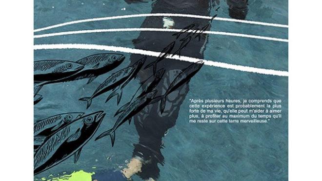"""Sortie du roman graphique """"Éveil en pleine mer""""  : le 2 juin 2020 !"""