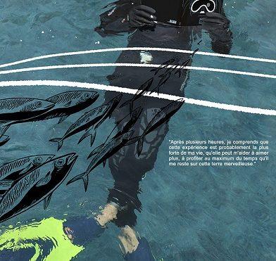 """Sortie imminente du roman graphique """"Éveil en pleine mer""""  : le 2 juin !"""